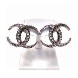 ❤️🛍Authentic Chanel Earrings Dubai Moon CC 🛍❤️